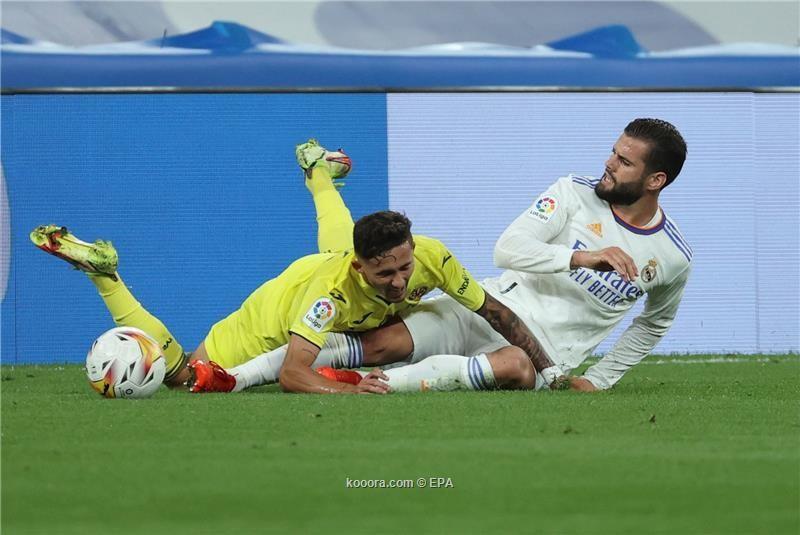 بالصور.. فياريال يفرض التعادل على ريال مدريد في البرنابيو