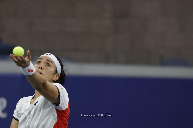 بالصور : أنس جابر تغادر بطولة أمريكا المفتوحة للتنس