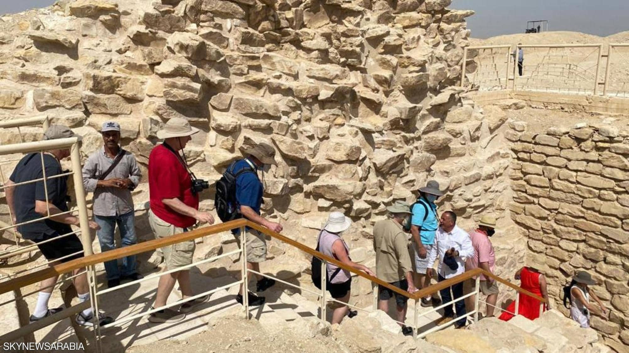 """شاهدوا: افتتاح مقبرة الملك """"زوسر"""" في سقارة بمصر"""