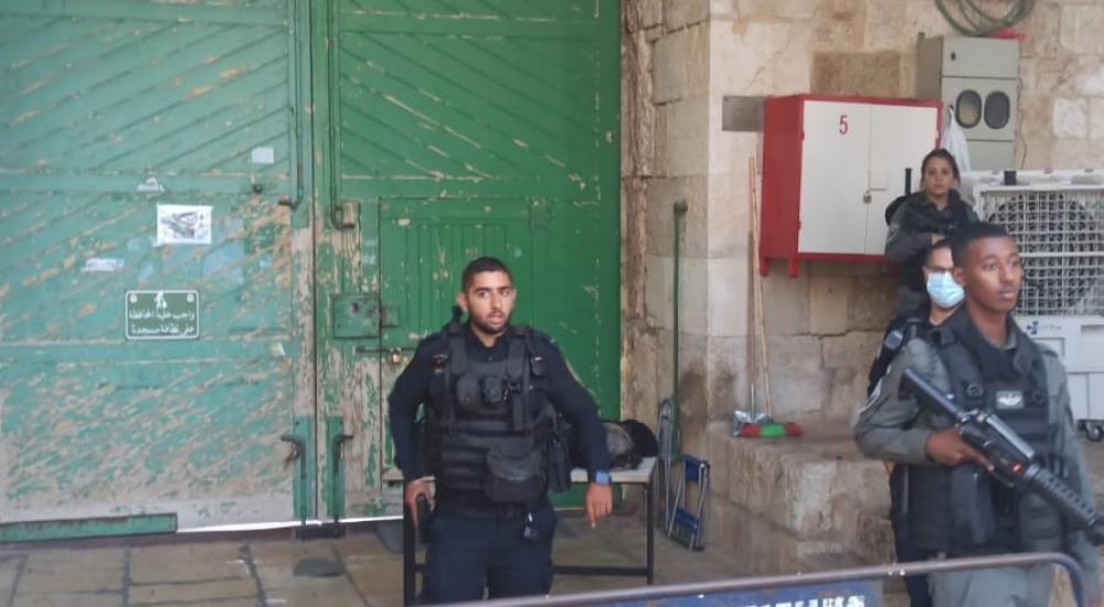 شاهد محدث.. شهيد برصاص الاحتلال بزعم تنفيذه عملية طعن في القدس