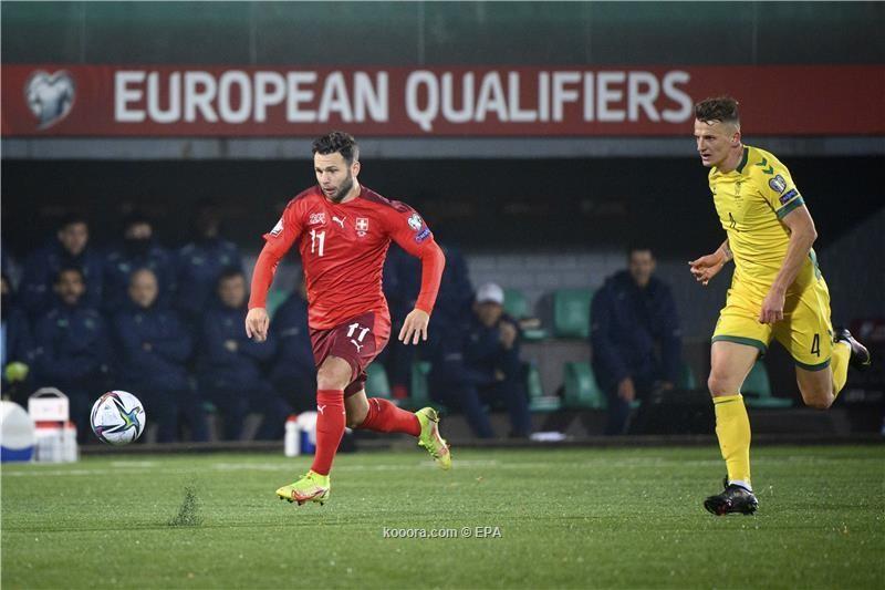 بالصور.. سويسرا تزعج إيطاليا بفوز جديد في تصفيات المونديال