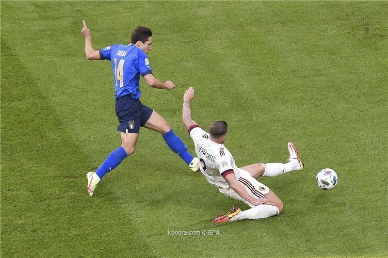 بالصور.. إيطاليا تُسقط بلجيكا وتحصد المركز الثالث بدوري الأمم