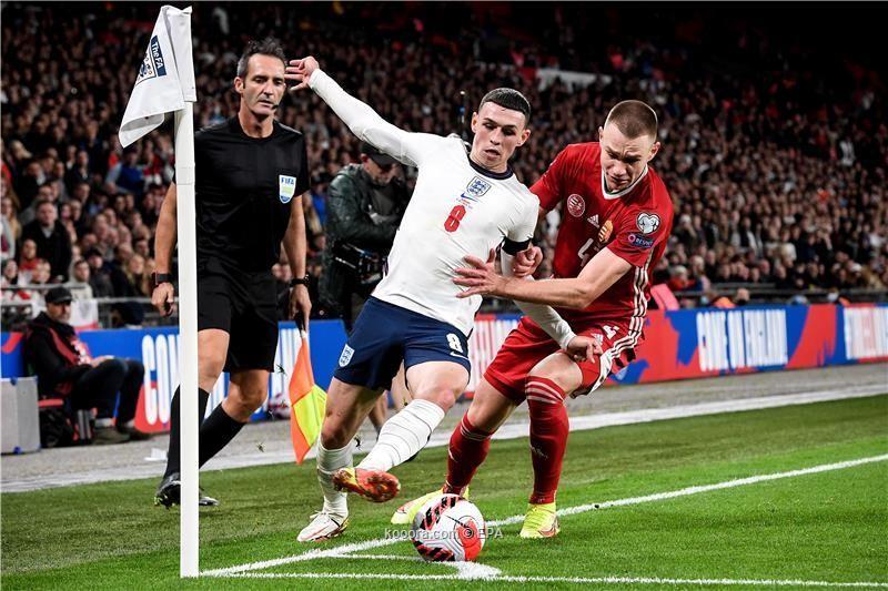 بالصور: المجر تفرمل إنجلترا في تصفيات المونديال