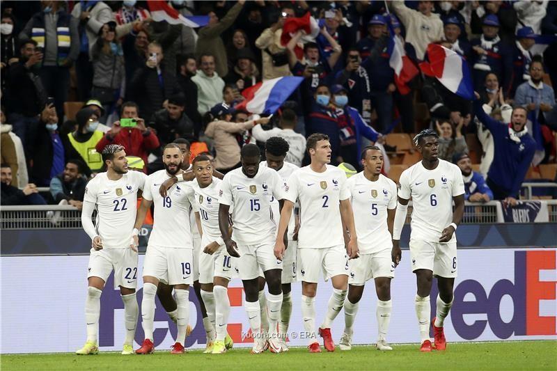 بالصور : بنزيما ومبابي يتوجان فرنسا بدوري الأمم على حساب إسبانيا