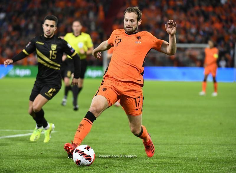 بالصور: هولندا تمطر شباك جبل طارق بسداسية وتحتفظ بالصدارة